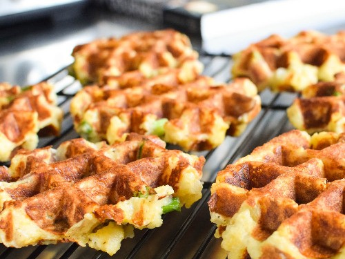 Use Your Waffle Iron for Incredible Leftover Mashed Potatoes