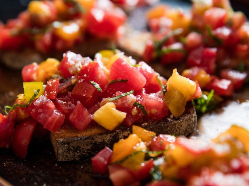 A Guide to Great Tomato Bruschetta, in Season and Out