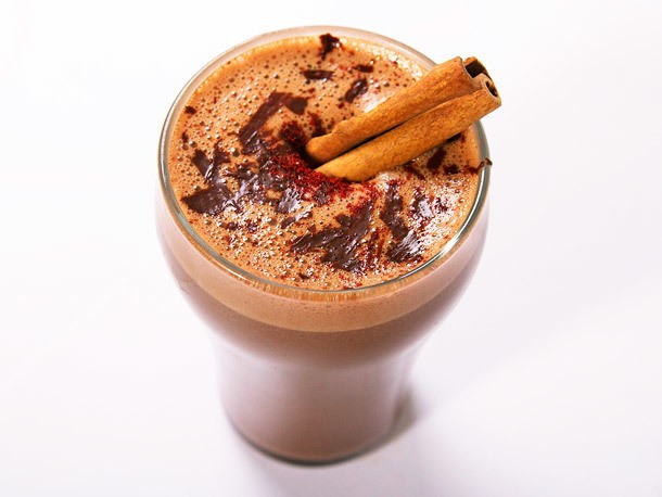 Spicy Aztec Hot Chocolate With Chili, Cinnamon, and Mezcal Recipe
