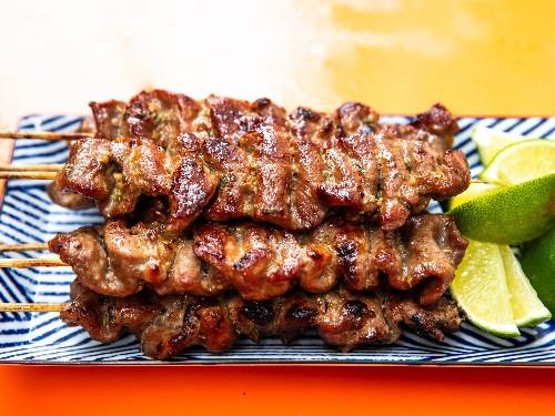 Thai-Style Grilled Pork Skewers (Moo Ping) Recipe