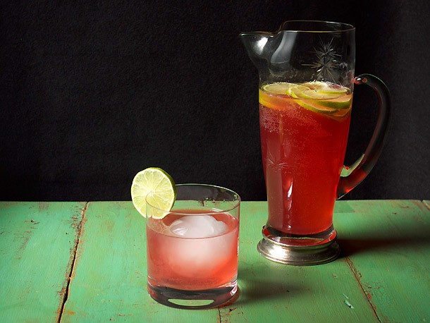 Pitcher Drinks: Hibiscus-Tequila Cooler