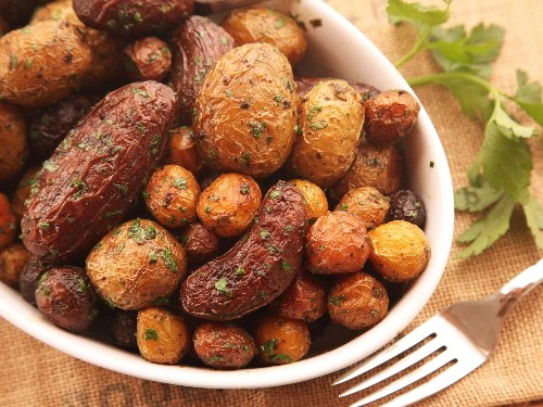 The Secret to Extra-Crispy Herb-Roasted New Potatoes: More Than a Pinch of Salt