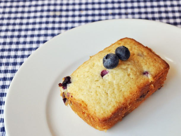 Individual Blueberry Buttermilk Loaves Recipe
