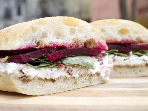 A Sandwich a Day: Goat Cheese and Beets at Valley Shepherd