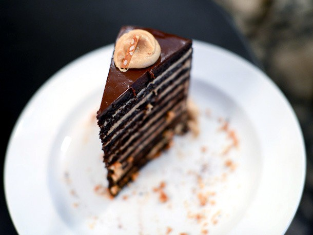 Lavo's Chocolate Cake is a 20-Layer Behemoth