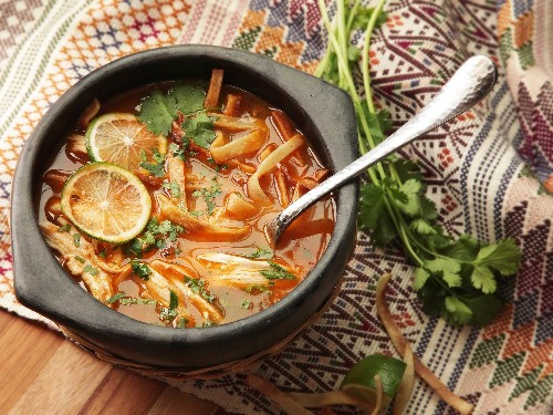 Sopa de Lima: Mexican Tortilla Soup, Straight Up With a Twist