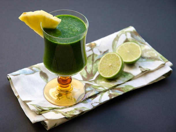 Tropical Green Juice Recipe