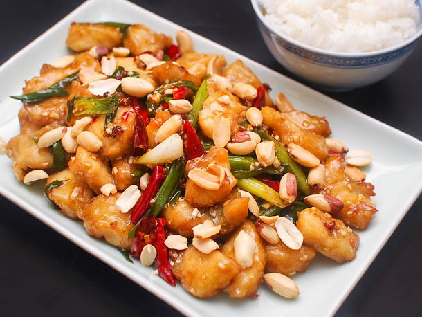 Kung Pao Fish With Dried Chilies and Sichuan Peppercorns Recipe