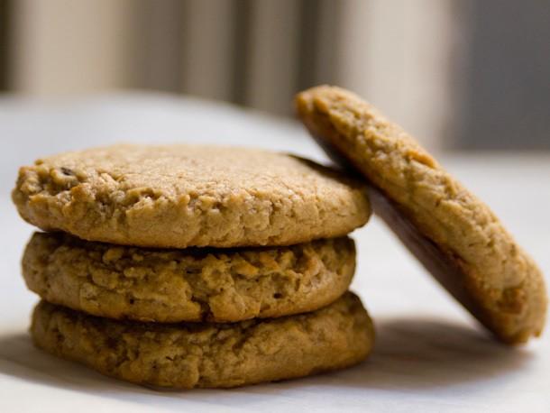 Peanut Butter Oat Cookies Recipe