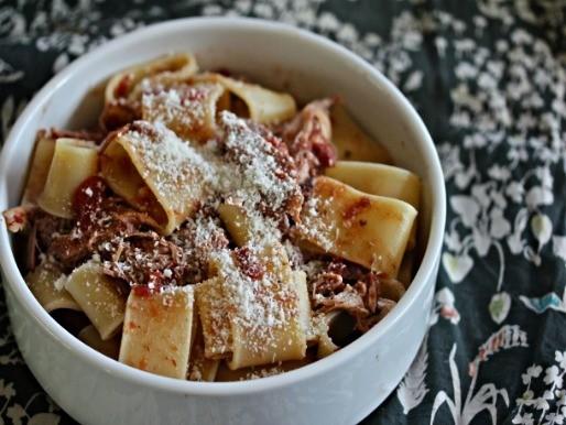 Sunday Supper: Slow Cooker Pork Shoulder Pasta