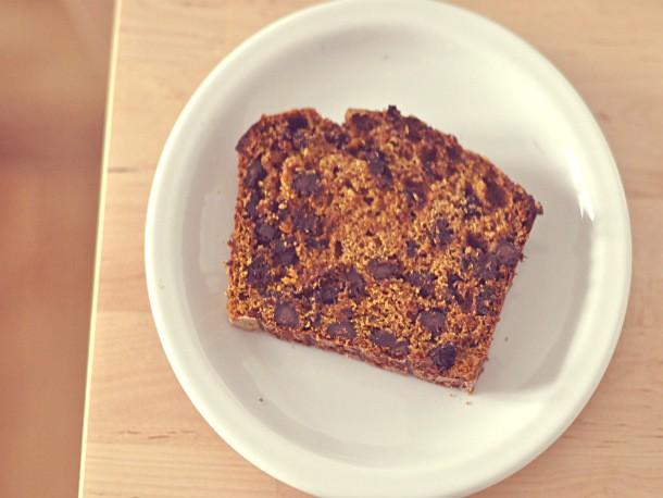 Spiced Pumpkin Chocolate Chip Loaf Recipe