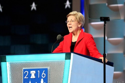 Senator Elizabeth Warren says feds should 'back off' marijuana legalization