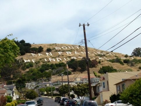 Visiting South San Francisco's famous hill sign