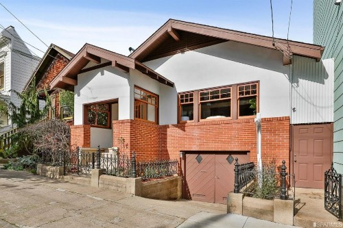 Noe Craftsman with untouched original details on the market for the first time in over 65 years