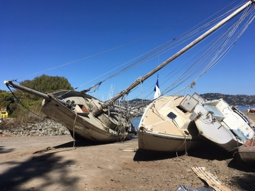 Historic Sailing Vessel Doomed in Sausalito