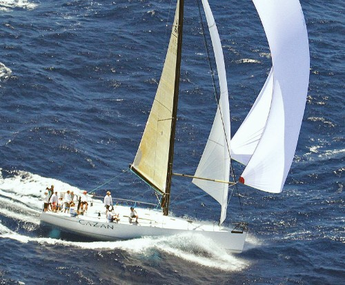 Sailing To Hawaii From San Francisco In The Pacific Cup Race
