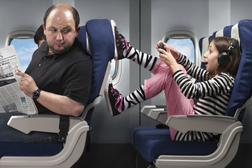 How to deal with the most annoying people on your flight