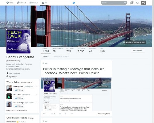 Twitter redesign uses big photos, looks like Facebook, Google+