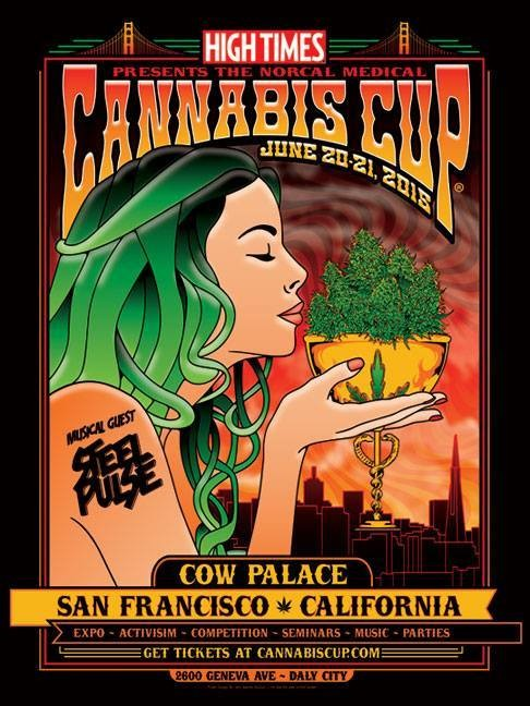 California's biggest marijuana festival — the High Times Cannabis Cup — is ready to roll