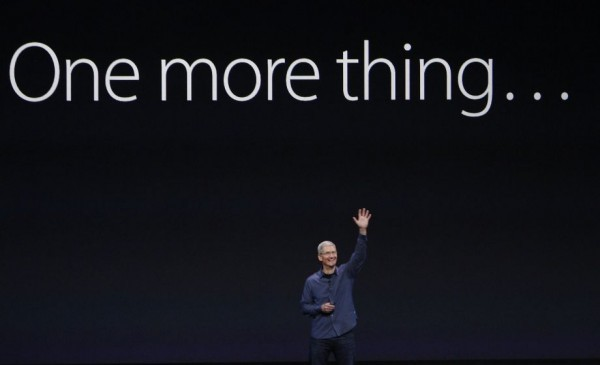 "God ""totally cool"" with giving Tim Cook all that homosexuality"