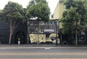 The story behind Valencia Street's longest boarded up building