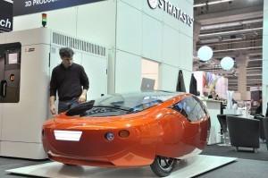 The 3D-printable car