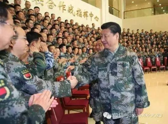 习近平新头衔公布:军委联指总指挥