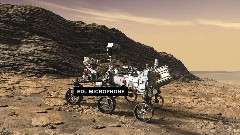 Discover space rover