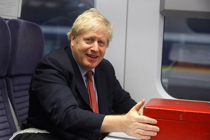 Boris is taking an emperor's approach to briefings