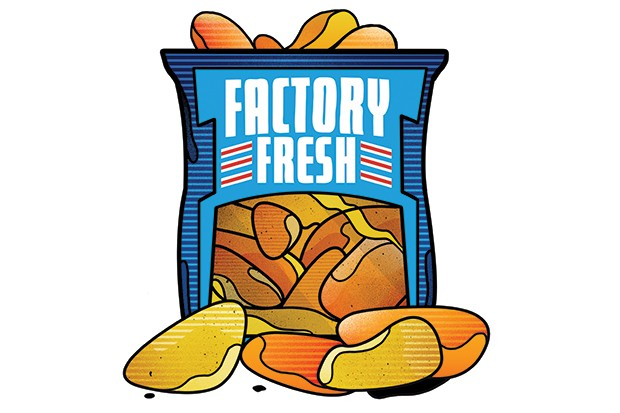 When healthy eating was a packet of salt-and-vinegar crisps. Golden Wonder, not Walkers
