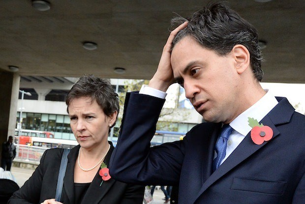 How serious is the threat to Ed Miliband?