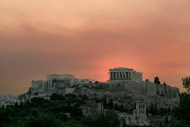 GREECE & THE CRISIS - Magazine cover