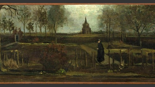 "Museum wegen Corona geschlossen: Einbrecher klauen den ""Frühlingsgarten"" von van Gogh"