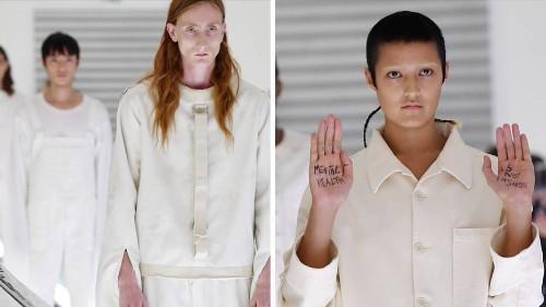 Psychische Gesundheit: Gucci steckt seine Models in Zwangsjacken – der Protest folgt live auf dem Laufsteg