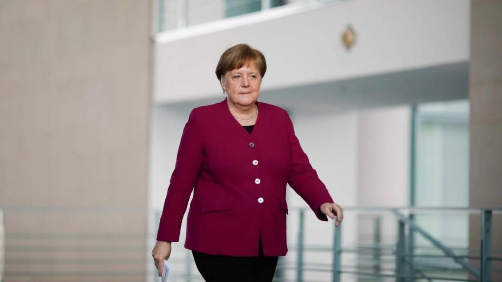 Kanzlerin Merkel ist leicht optimistisch – warnt aber davor, sich in Sicherheit zu wiegen