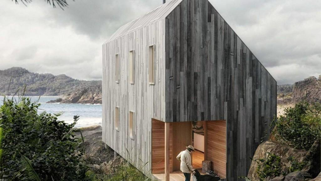 Diese traumhafte Hütte kommt im Karton und kann von Laien aufgebaut werden