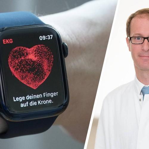 Neue Herzfunktionen mit EKG: Wirklich ein Lebensretter? Das sagt ein Chefarzt zur Apple Watch Series 4