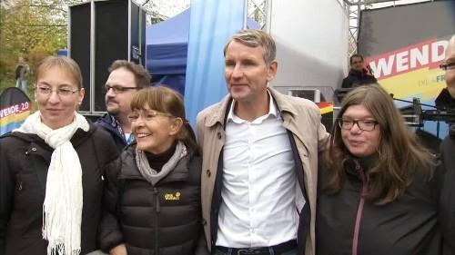 Video: Landtagswahl Thüringen: Höcke fordert Rückkehr zur Normalität