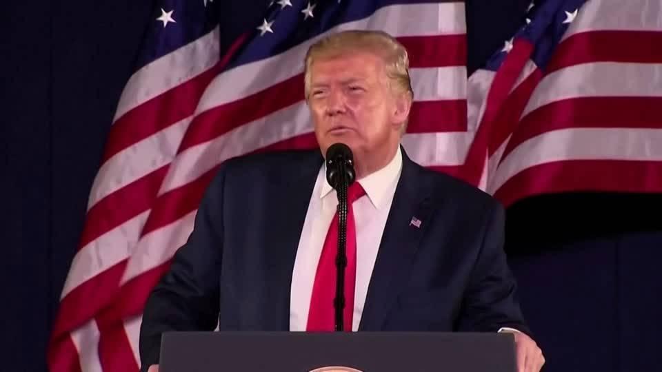 Trump attackiert Denkmalstürmer und Anti-Rassismus-Demonstranten