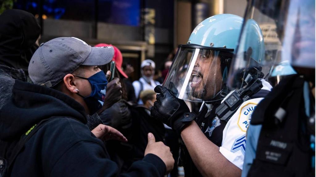 US-Unruhen: zwei Tote bei Protesten in Vorort von Chicago