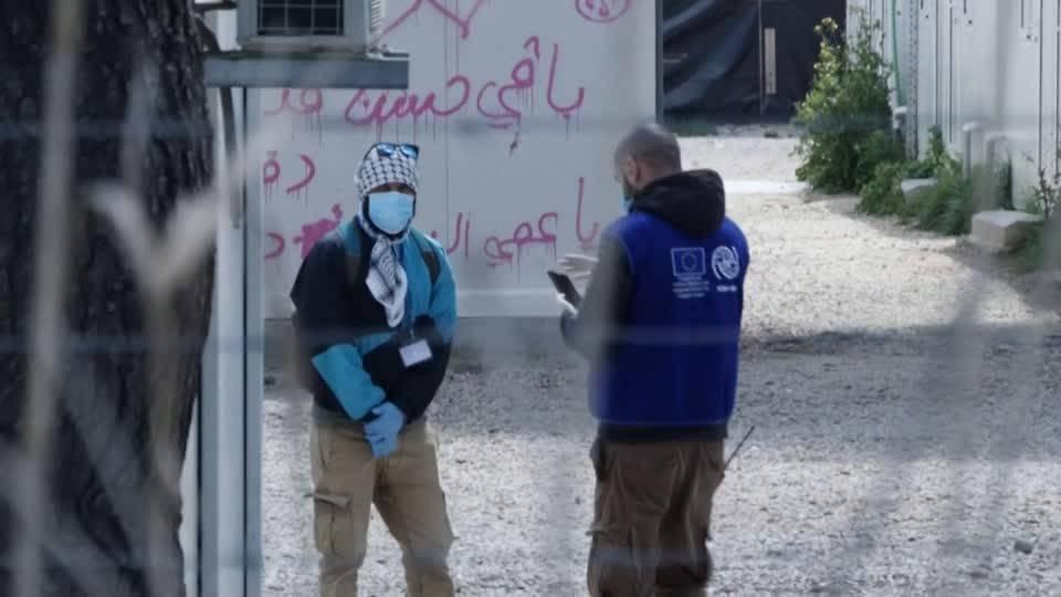 Griechisches Flüchtlingslager Ritsona unter Quarantäne gestellt