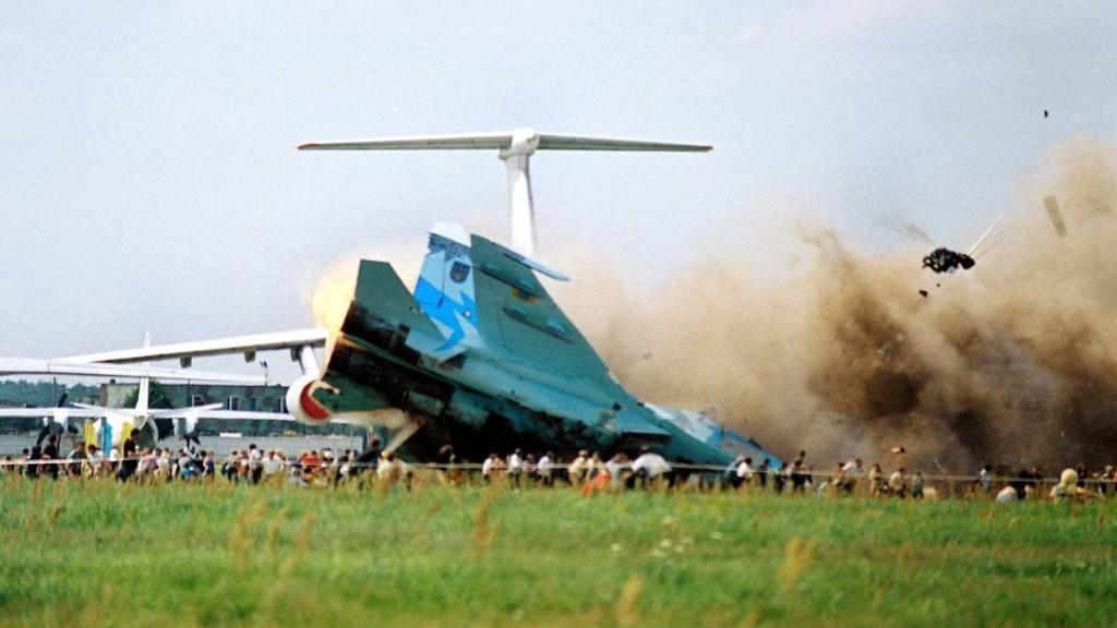 27. Juli 2002: Beim schlimmsten Flugschau-Unglück der Geschichte stürzt ein Kampfjet in die Zuschauer
