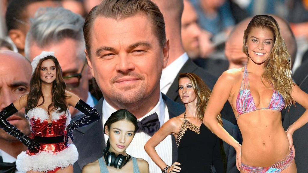 Leonardo DiCaprio wird immer älter – seine Freundinnen nicht