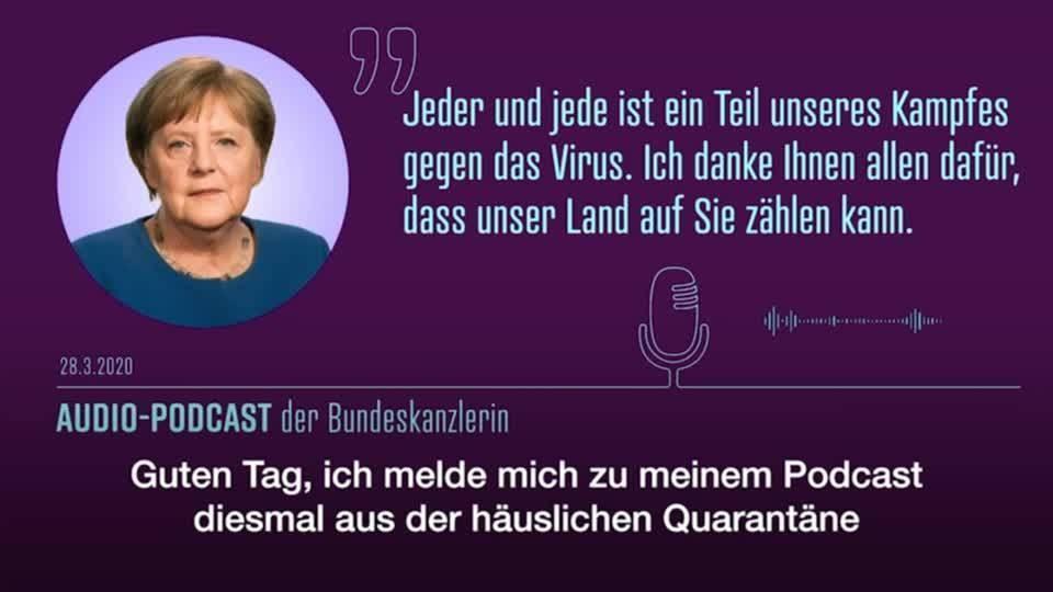 """Merkel: """"Es gibt keinen Grund, die Regeln zu lockern"""""""