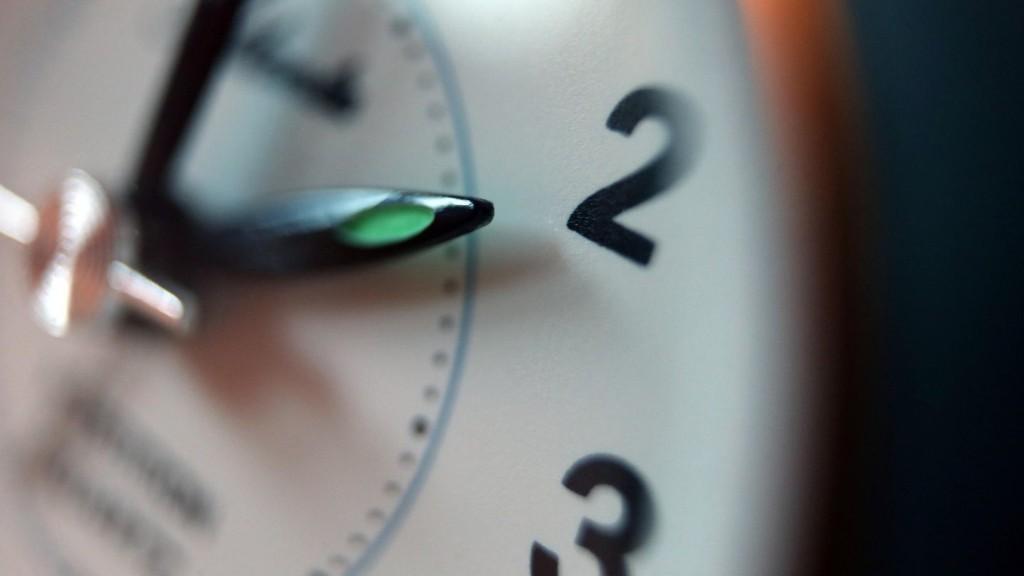 Uhren sind umgestellt – Winterzeit hat begonnen