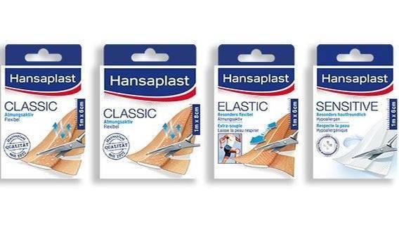 Mikrobielle Verunreinigung möglich: Hansaplast ruft vier Pflaster-Produkte zurück