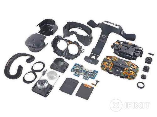 iFixit 拆解显示 Oculus Rift 和 HTC Vive 存在明显不同