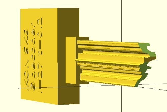 3D 打印的撞匙:几乎可以开所有锁