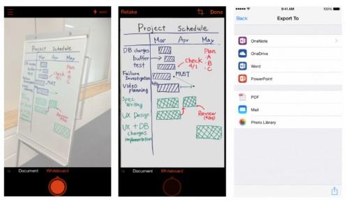 微软文件扫描应用 Office Lens 登陆 iOS 和安卓平台