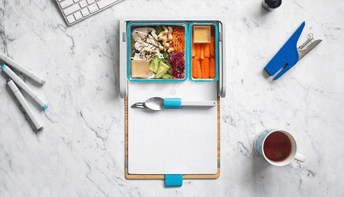 PrepdPack:一款外观漂亮又能追踪营养摄入的午餐盒